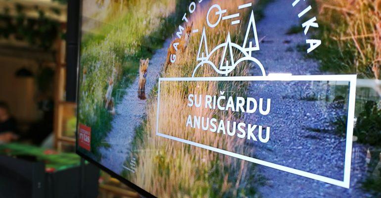 Zoopark residents visited Ričardas Anusauskas film premiere