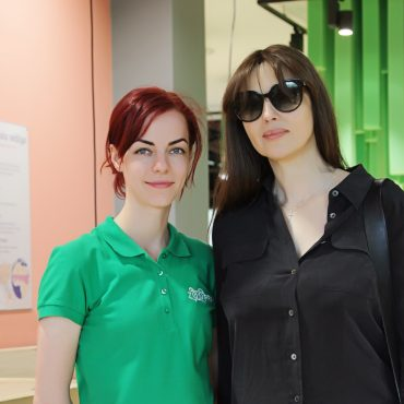 Monica Bellucci visited Zoopark