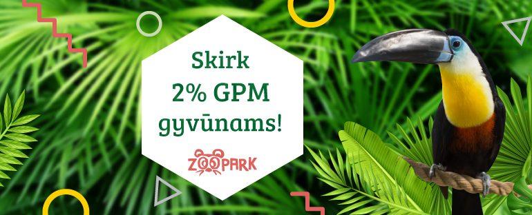Skirk 2% GPM gyvūnams!