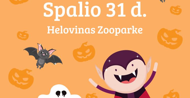 Helovinas Zooparke! ŪūŪ!