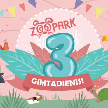 Zoopark 3-asis gimtadienis!