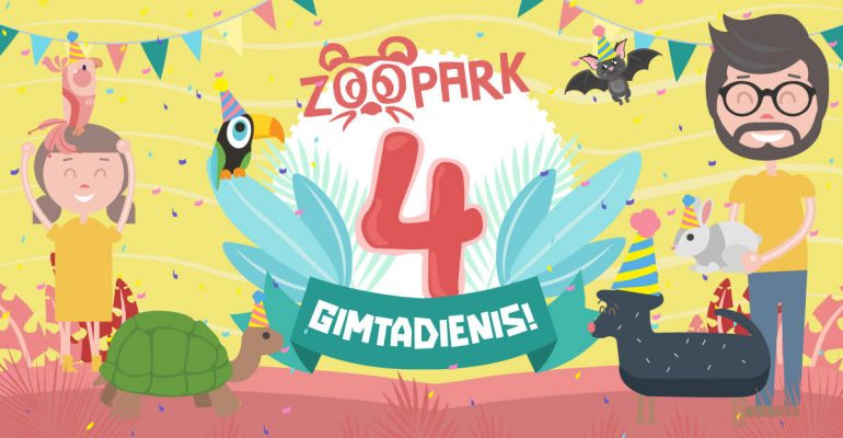 4-asis Zoopark gimtadienis!