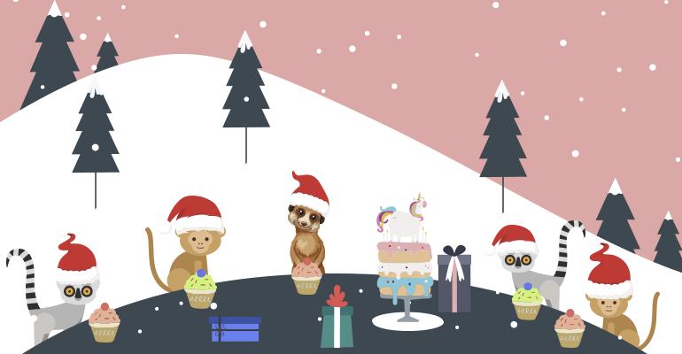 Kalėdinius vakarėlius švęskite Zooparke