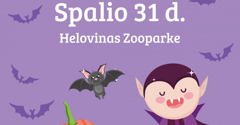 ŪŪūū! Helovinas Zooparke!