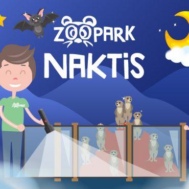 Paslaptinga naktis Zoopark!