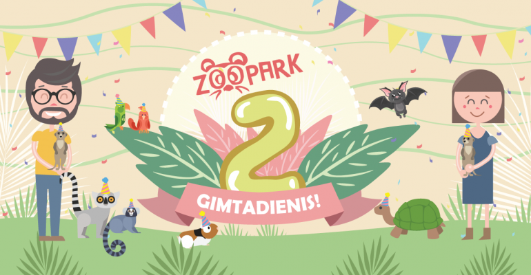 2-asis Zoopark gimtadienis!
