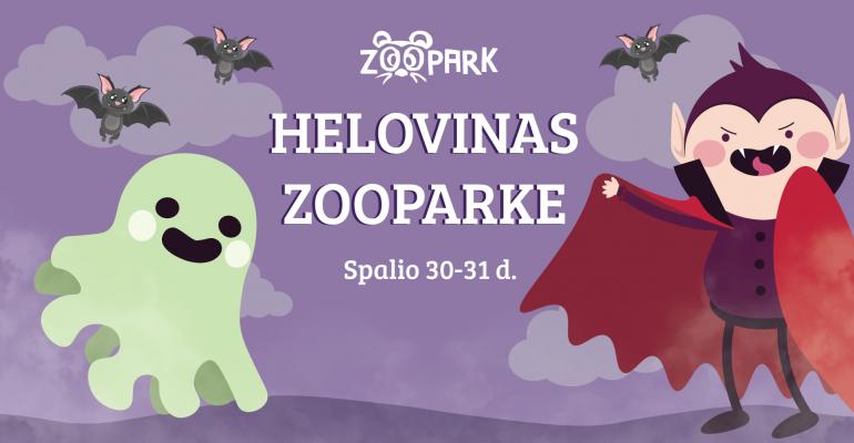 Spalio 30-31 d. HELOVINAS Zoopark!