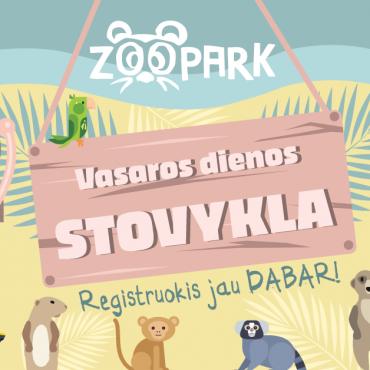 Vasaros stovyklos Zoopark!