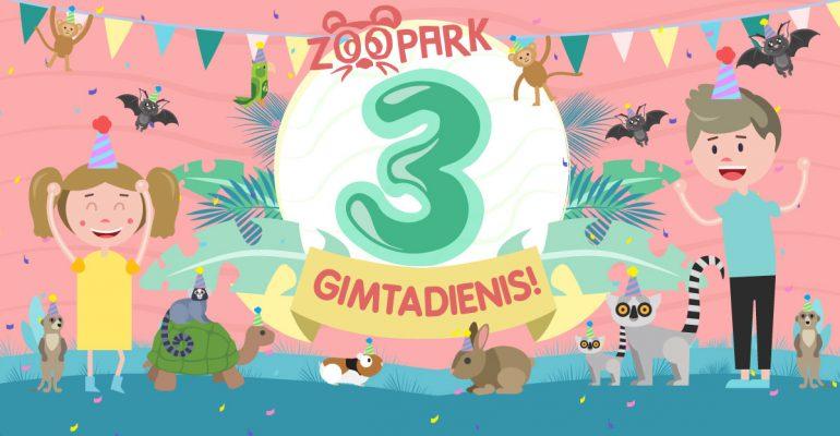ZOOPARK 3-iasis gimtadienis!