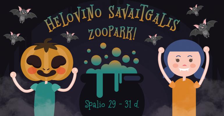 Helovino savaitgalis Zoopark