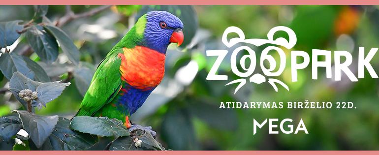 Zoopark atidarymas Megoje - jau birželio 22 dieną!