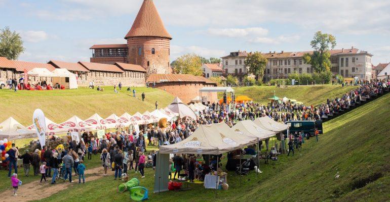 Kauno pilies kieme - gyvūnų šventė
